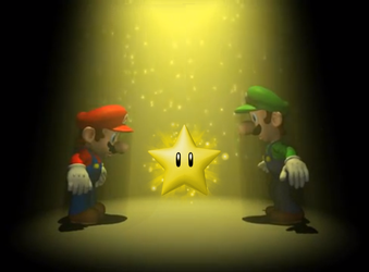 Mario and Luigi with a lightning power star by Banjo2015