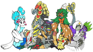Pokemon - Alola team