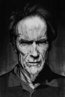CLINT EASTWOOD by myorphic