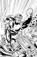Aquaman and The Others: Futures End by MarkIrwin
