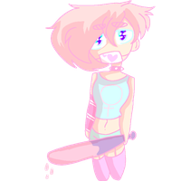 Pink Boy by Bonnieart04