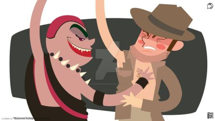 Indiana jones and Temple of doom by Kassworkshop