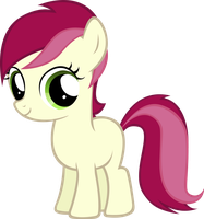 Roseluck Filly by MoongazePonies