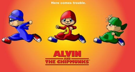 Alvin and the Chipmunks poster by KicsterAsh