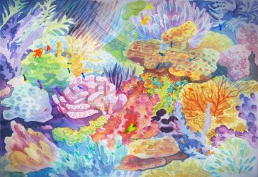Just some Corals by Elaine10