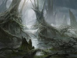 Swamp by AdamPaquette