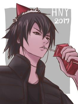 Noctis FFXV: HNY2017 by friend4eyez