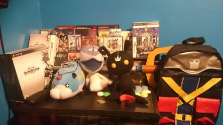 My Kingdom Hearts Collection so far  by AncientWisemon