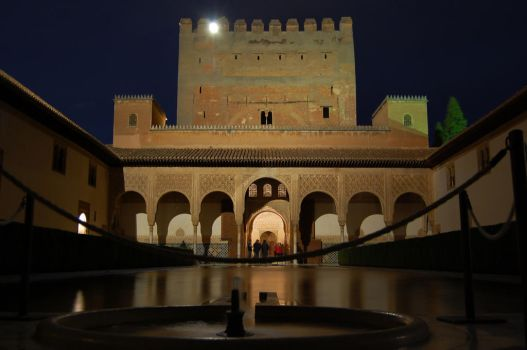 Alhambra by Night by batusai316