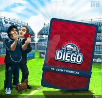 Las cartas de Diego by Bonadesign