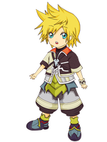 Chibi Ventus by Camellian-leaves