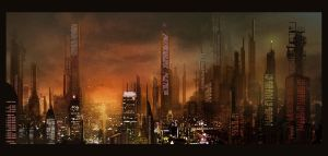 Red City by FisHgRiNd