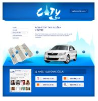 City Taxi Nitra Web by vaccieaux
