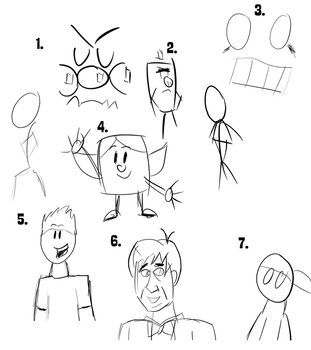 Hand tablet drawing test by Percyfan94