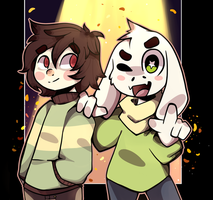 Best Buds by cometcrumbs