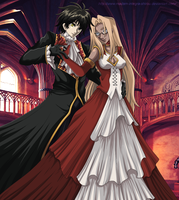 A dance with the darkness by Madam-Integra-Shirou