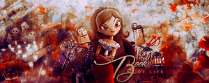 Book of Life Signature by skyelicius