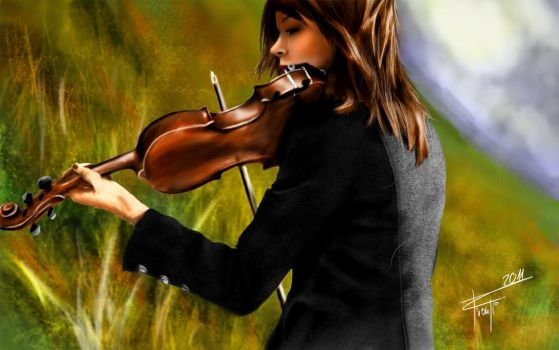 Lindsey Stirling by The-Fronti