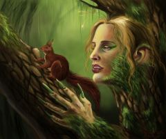 the forest is dangerous by Valyavande