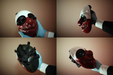 Wolf Mask angles by RedemptiveSin