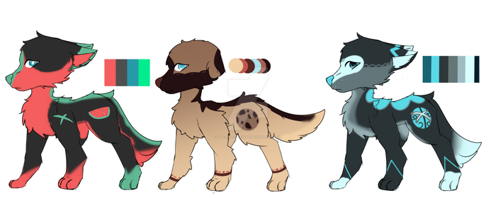 Doggo Adopts (3/3 open) by The-Holy-Ravioli