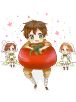 APH - T-TOMATOO by milaa-chan