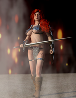Red Sonja - I'll settle this... by Vad-mig-orolig