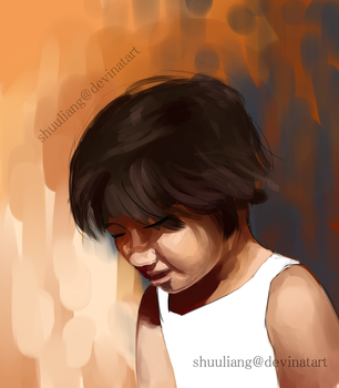 Digital Portrait(Quick-sketch) by shuuliang
