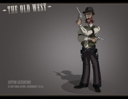 The Old West: The Gunslinger by feuerkorn