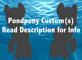 April Pondpony and Fawnpond Custom(s) - CLOSED by Cherri-Crimzon