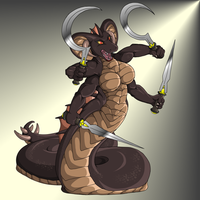 Four arm Snake Guardian by QuickTron