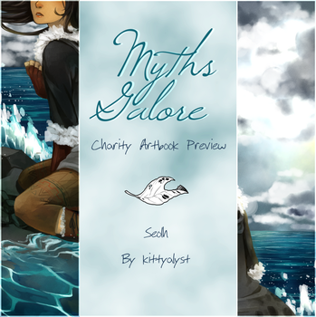 Myths Galore Charity Artbook [Preview] by kittyalyst