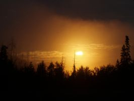 Sunrise over Snags II by Bwabbit