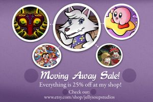 Moving Away Sale by JellySoupStudios