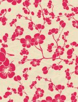 magenta blossoms - free to use by amberwillow