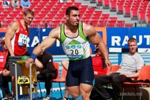 Track Athlete 21 by Stonepiler
