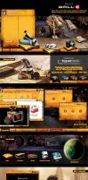 The Official WALL-E XP Desktop by skinsfactory