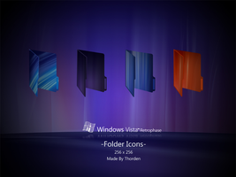 Retrophase Folder Icons by Thorden