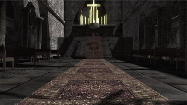 Church (Church) stage dl by MikuPirate