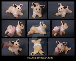 SOLD Plushie: Jolteon Pokemon by Avanii