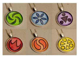 Sage Medallions Ocarina of Time by Kattvalk
