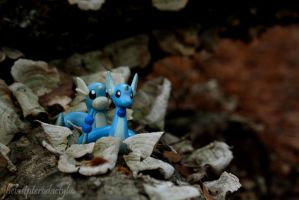 Dragonair and Dratini