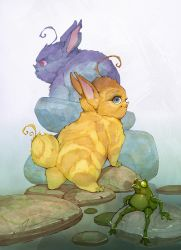 Tiger bunnies at Froggy Springs by APetruk