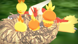 MMD PK Torchic DL by 2234083174