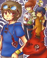 Digimon Tamers by Cooro-kun