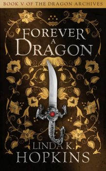 Book Cover Design for Forever a Dragon by ebooklaunch