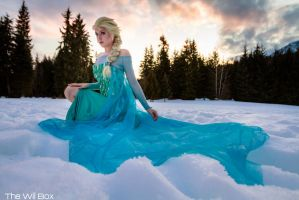 Elsa the Snow Queen by Tarah-Rex