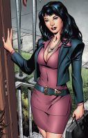 The Lovely Carol Ferris by perpetualpanda