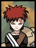 Gaara, of the sand. by abzies