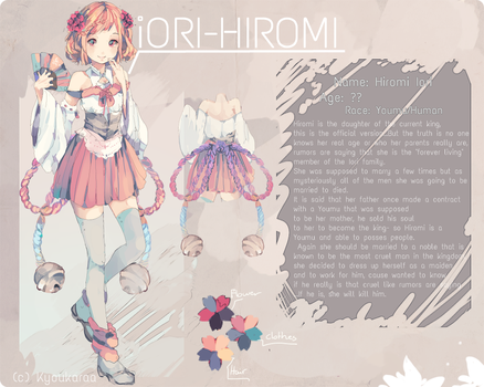 Hiromi Reference by KyouKaraa